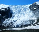 The icefall in Bergsetbreen